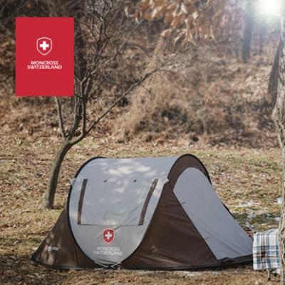 [몽크로스] 원터치 텐트 3~4인용 (PMC-1002)_색상 택1