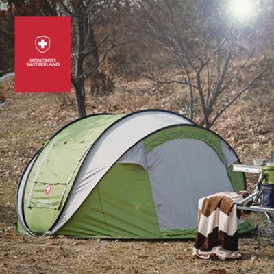 [몽크로스] 원터치 텐트 5~6인용 (PMC-1003)_색상 택1