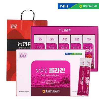 충북인삼농협 맛있는콜라겐(스틱) 13g x 30포