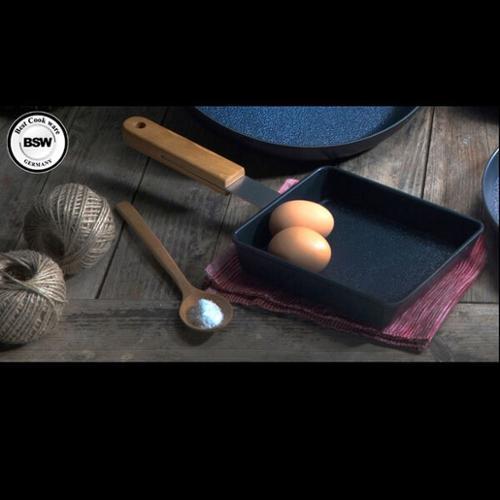 [BSW] 클래식 IH 주물단조 사각팬 18cm